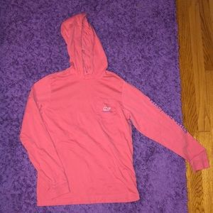 Long sleeve, hooded Vineyard Vines Shirt